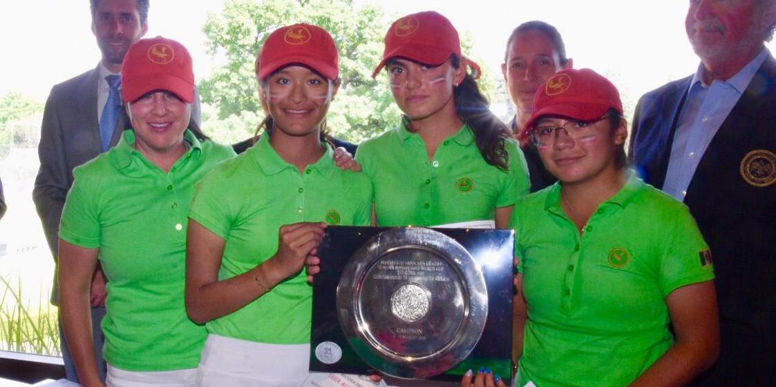 México al Toyota Junior Golf